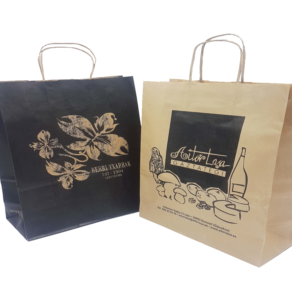 Embalaje y packaging para tiendas y pequeños comercios en Gipuzkoa