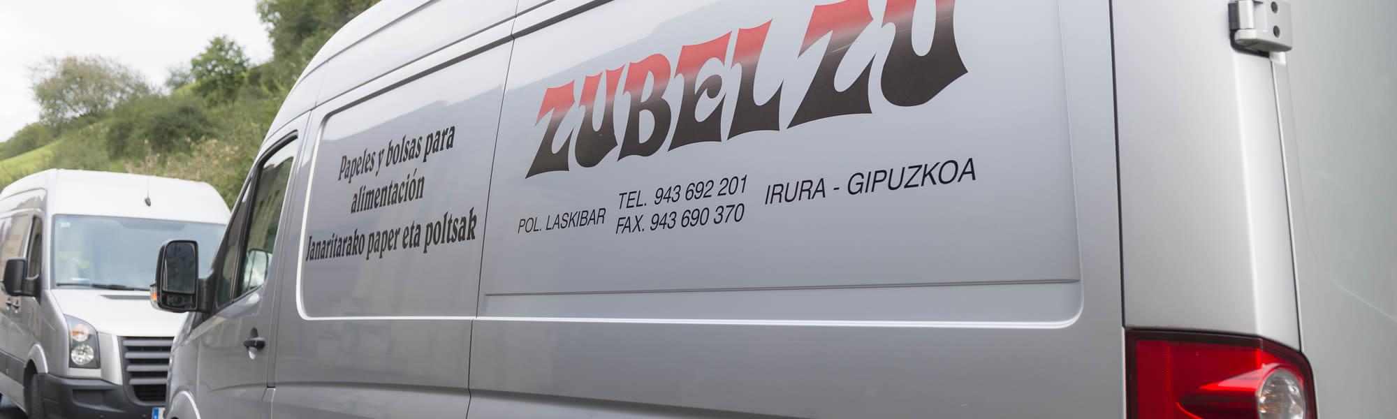 Zubelzu realiza entregas diarias de productos de packaging y embalaje